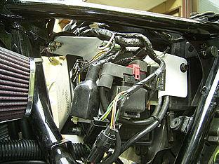 W650電装プレート